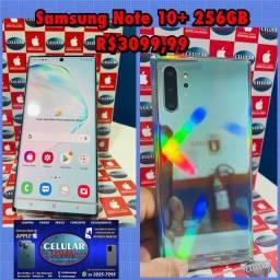 Samsung Note 10+ 256GB Usado Caixa Carregador Original