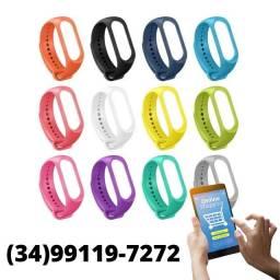 Título do anúncio:  Pulseira Silicone para Relógio Xiaomi Miband