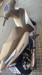 Honda Biz 2020 branca