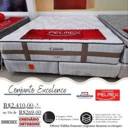 Título do anúncio: Cama Queen Pelmex Nova na promoção Direto de Fábrica Entregamos no mesmo dia do pedido