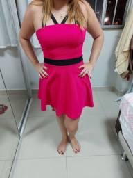 Vende-se vestido rose boneca