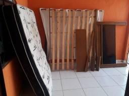 Cama e colchão