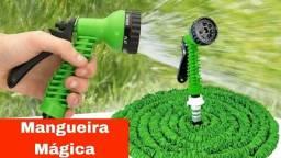 MANGUEIRA MÁGICA EXPANSÍVEL/RETRÁTIL 15m com Gatilho 7 em 1<br><br>
