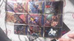 Cards da marvel, de 1995
