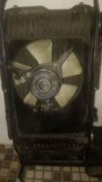 Eletroventilador intercooler Pajero 2.8
