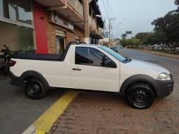 Título do anúncio: Fiat Strada Hard Working 1.4 (Flex) (Cabine Simples) 2018 branca