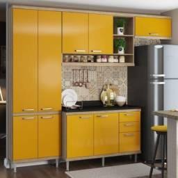 Armário de Cozinha Completo 5 peças 2,60m 5841 Linha Sicília Multimóveis