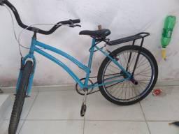 Bicicleta aro 26 unissex bom estado