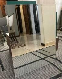 Últimos 5 espelhos bisotê grandes - O + Barato do Pr