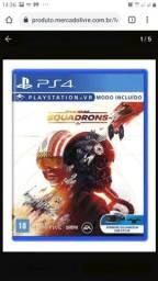 Jogo PS4 star wars squadrons novo
