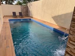 Título do anúncio: Casa Lote Inteiro 250m²  3 suítes plenas, Piscina e área Gourmet - Jardim Atlântico - Goiâ