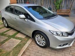 Honda Civic 2.0 LXR 2014 16v Flex Automático Banco de Couro 56.000 Km