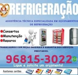 Título do anúncio: Consertos em geladeiras,expositores de bebidas,freezer,etc