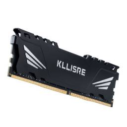 Nova, lacrada - Memória RAM Kllisre 8gb DDR4 2666mhz - Parc. 12x