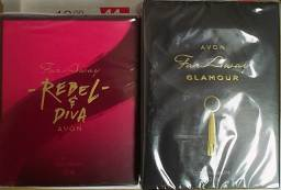 Kit 2 Perfumes Far Away Glamour/Diva Avon