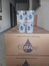 água mineral copos de 200ml