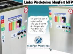 Máquina de Picolés Picoleteira e Paletas Mexicanas