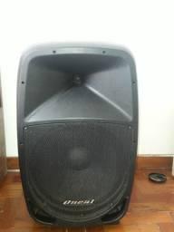 Caixa de som Acústica Ativa Oneal Opb 1115BT - Maxcomp Musical