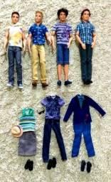 Ken + outra roupa e acessórios