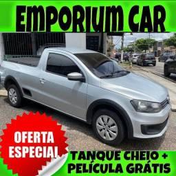 OFERTA RELÂMPAGO!!! VW SAVEIRO 1.6 CS ANO 2014 COM MIL DE ENTRADA