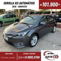 Título do anúncio: Toyota Corolla xei 2018 automático !!40 mil km