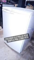 Fogão Atlas INoX  Frigobar R130Litros eletrolux