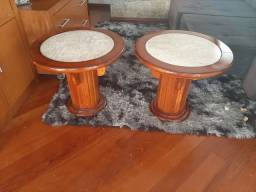 Conjunto 2 mesas laterais