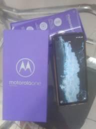 Motorola one action 128gb na caixa