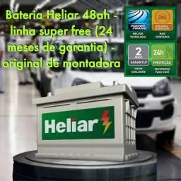 Bateria Heliar 48ah - Hf48bd - linha super free 24 meses de garantia