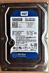 hd pc Western Digital 500GB azul