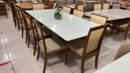 Título do anúncio: Mesa jantar telinha acabamento laka e madeira