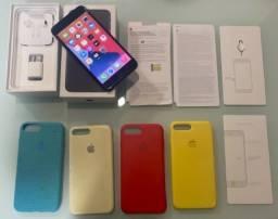 IPhone 7 Plus 128gb Preto (Cartão 10 x 220)
