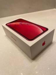 iPhone XR red 128 gb usado em perfeito estado