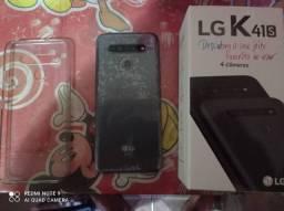LG k41s, carregador, e Nota fiscal tá na garantia