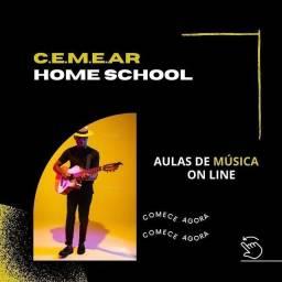 AULAS DE MUSICA ON LINE