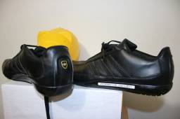 Tênis sapatênis Adidas Porsche Design cor preto tamanho 41 ou 42