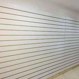 Título do anúncio: Painel canaletado branco - 180,00 o m2