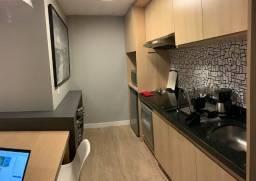 Excelente oportunidade de locação apartamento em Caminho das Arvores, mobiliado 1 suíte