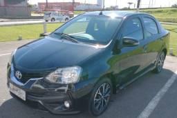 Etios sedan Platinun 2018 completo + GNV