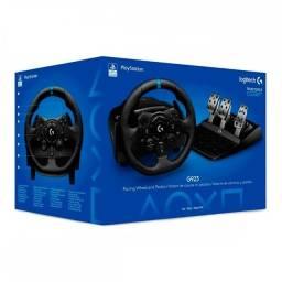 Volante Gamer Logitech G923 - PC / PS4 / PS5 Trueforce - NOVO - Loja Física