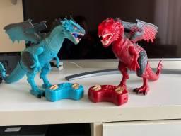 Dragão brinquedo controle remoto