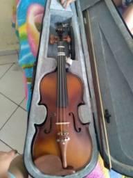 Título do anúncio: Violino madeira maciça