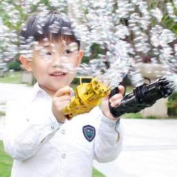 Título do anúncio: Metralhadora de bolhas de sabão