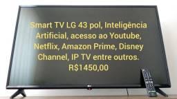 TV smart led LG 43 (somente venda)