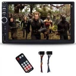 Multimídia Mp5 Pro Hd Universal Bluetooth Usb Espelhamento
