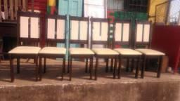 Título do anúncio: 6 cadeiras de MDF
