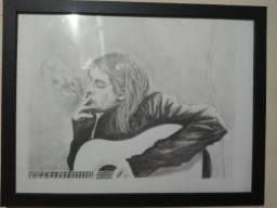 Kurt Cobain colecionadores item raro