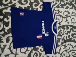 Camisa da França futebol