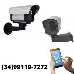 Título do anúncio: Câmera Falsa de Segurança