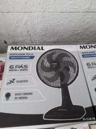 Ventilador Mondial de 30 cm novo na caixa aceito cartão de crédito e débito